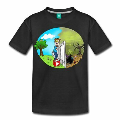 FUNnel Vision The Other Side Kids' Premium T-Shirt by Spreadshirt™