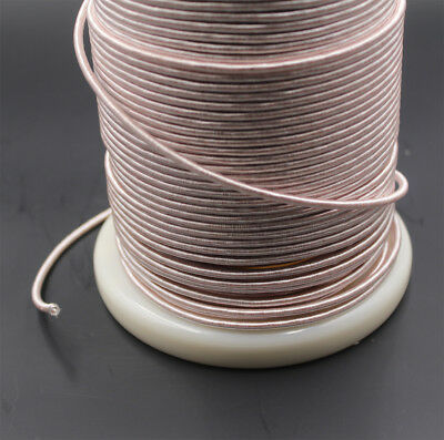 single layer insulation,for crystal radio coil 20m Litz wire 40//44 40 x 0.05mm