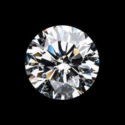 G-H White Color 3Mm To 12Mm Round Cut Moissanite Loose Vvs1 Grade Gemstone