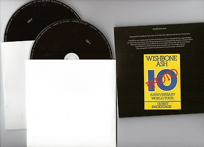 UNRELEASED LIVE ⌂ 2018 WISHBONE ASH CD ⌂ GUILDFORD '80 (2 x CD complete show)