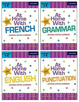 At Home with Language Skills Pack (Ages 7-9) by Janet Irwin, John Jackman, Sarah