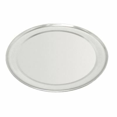 Vogue Aluminium Wide Rimmed Pizza Tray Round Plate Commercial Kitchenware