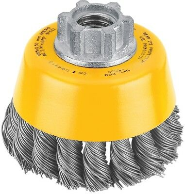 DEWALT 3-in x 5/8-in 11-HP .020 Carbon Knot Wire Cup Brush