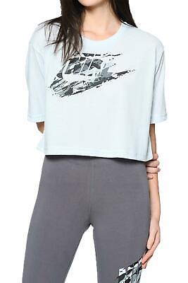 Nike W Nsw Tee Ss Rck Grdn T-Shirt Donna