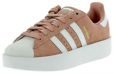 sports shoes 05397 d8557 Adidas Superstar Bold Scarpe Sportive Pelle Scamosciata Donna Rosa