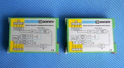 DATAFORTH DSCA41-03 Isolated Signal Conditioning Module PAIR hazardous Equipment