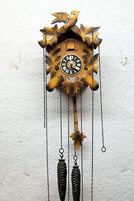 Old Cuckoo Clock Wall clock Chim Cuckoo made in Germany*