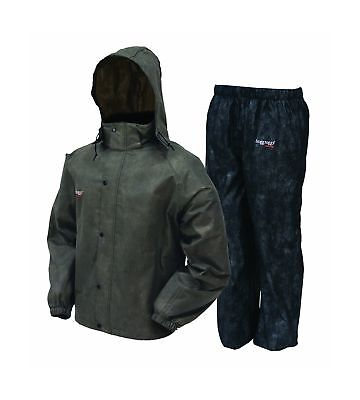 Frogg Toggs AS1310-105XX All Sport Rain Suit, XXL, Stone/Black XX-Large New