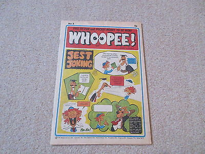WHOOPEE COMIC No 5, April 6th 1974- very good condition-/Beano, Whizzer & Chips