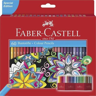 Faber Castell Classic Colour Colouring Pencils Set Of 60 Artists Colour Pencils