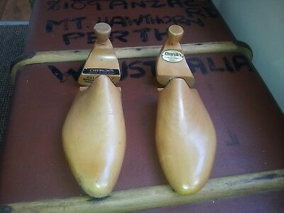 Church's Vintage Wooden 631 Shoe Trees From Dunkelman (London) Gents Size 7