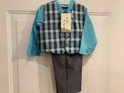 toddlers suits  size 18 mouths Little Jacques