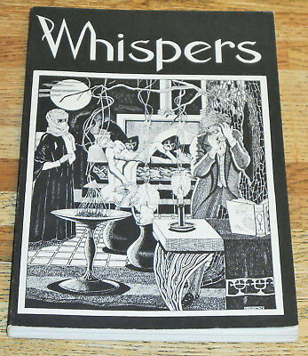 WHISPERS 2 rare horror fanzine 1975 SIGNED by KARL EDWARD WAGNER H P Lovecraft