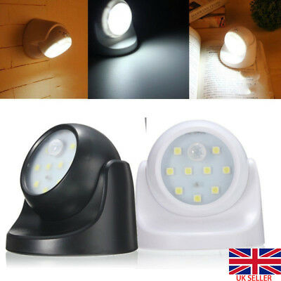 360° Indoor Outdoor Battery Operated Garden Motion Sensor Security Led Light