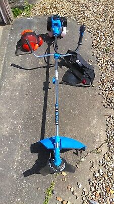 Sgs Petrol Strimmer / Brush Cutter ****with Helmet Ear Defenders And Visor****