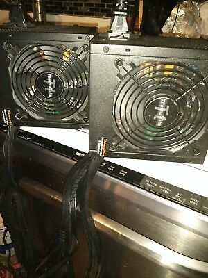 lot 2 Thermaltake 550W Power Supplies for antminer computer w/ BITMAIN switches