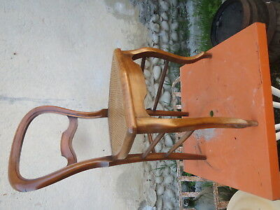 beautiful Chair antique Louis Philippe deco countryside caning furniture antique