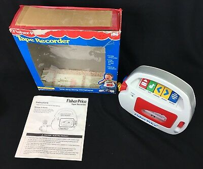 Fisher Price Tape Recorder with Sing-Along Microphone