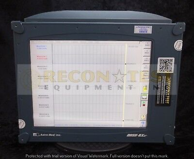 Astro-Med DASH-8XPM Power Quality Monitor/Data Acquisition Recorder Plotter