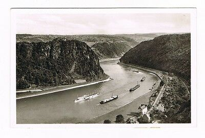 LORELEY - das Felsental der Loreley bei St Goarshausen am Rhein - 1954