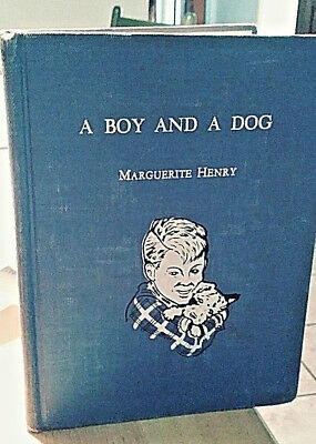 A BOY AND A DOG Wire Fox Terrier Henry Thorne ex libris 1944