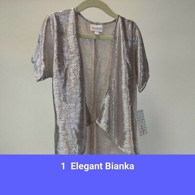 "Lularoe Kids NEW ""Elegant Collection""  Bianka Size 1"