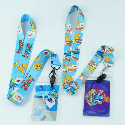 Cute Adventure Time Neck Strap Lanyard Cell Phone Rope Camera Lanyards ID Card