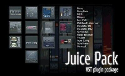 NEW IMAGE LINE IL Juice Pack Collection of FL Studio Plugins