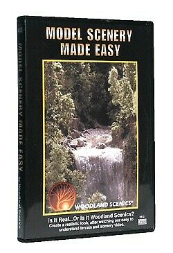 Woodland Scenics - DVD -- Model Scenery Made Easy  - R973