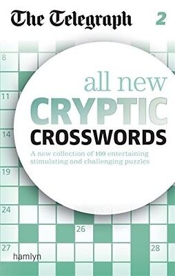 The Telegraph: All New Cryptic Crosswords 2 (The Telegraph Puzzle Books), New Bo