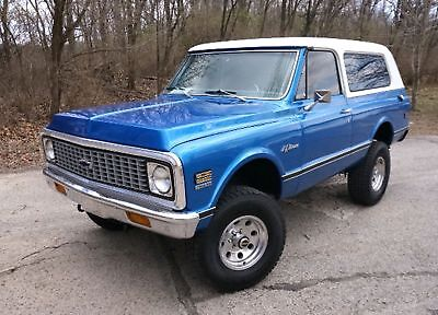 Chevrolet Blazer K5 Restomod Ls Engine 4 Speed Automatic Vintage A/c Custom Interior Restored 4X4 K5