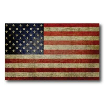 Weathered American Flag Magnet 3x5 inch Flag Decal Great for Car Truck or Fridge