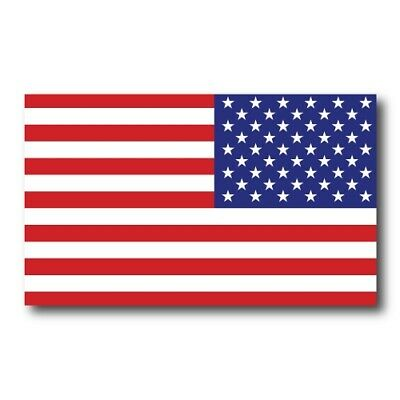 Reverse American Flag Magnet 3x5 inch Flag Decal Great for Car Truck or SUV
