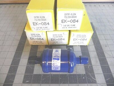 Lot Of Five Alco Controls Ek-084 Extra Clean Filter Drier 1/2 Sae Flare