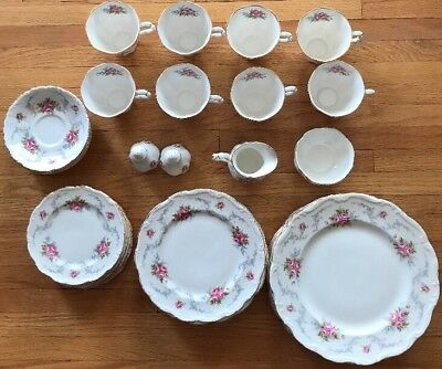 Royal Albert Tranquility 8-5 Piece Place Settings ++ 44pcs 1# Quality England