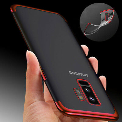 Luxury Ultra-thin Slim Clear Soft TPU Case Cover For Samsung Galaxy S9/S9 Plus