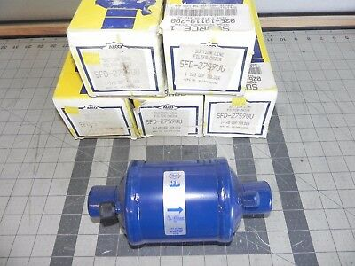 Lot Of Five Alco Controls Sfd-27S9Vv Filter Driers 1 1/8 Odf Solder