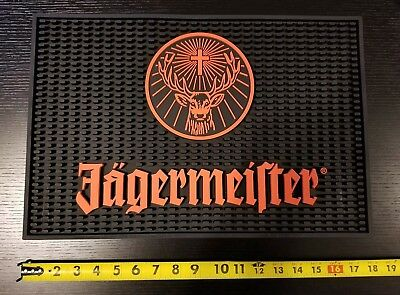 Jagermeister Extra Large Bar Rail Drip Spill Mat New Never Used