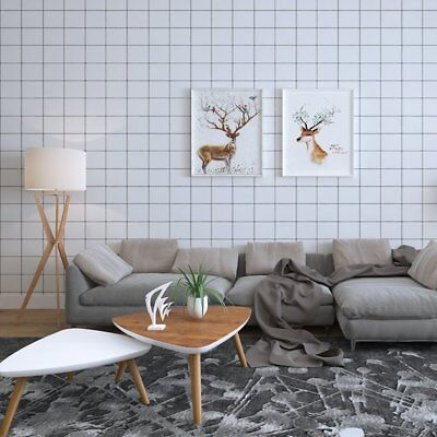 Self Adhesive Tile Pattern Contact Paper Non Woven Peel and Stick Wallpaper
