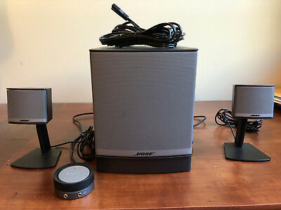 Bose Companion 3 Series II Multimedia Speaker System w Subwoofer FREE SHIPPING!