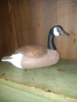 Hand carved Canadian goose