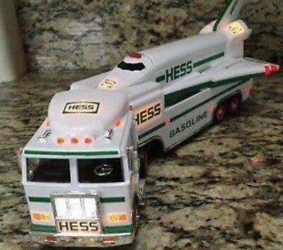 HESS TOY TRUCK and SPACE SHUTTLE with SATELLITE 1999