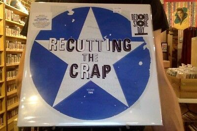 Recutting the Crap Volume Two 2xLP sealed vinyl RSD 2018 Record Store Day