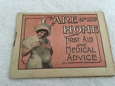 Dr. Pierce's Care of the Home First Aid and Medical Advice Booklet