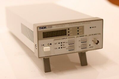 Thorlabs PDA2000C photo diode amplifier - used working