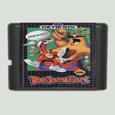 ToeJam & Earl 16 bit SEGA MD Game Card For Sega Mega Drive For Genesis