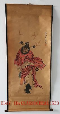 Old Collection Scroll Chinese Painting /Figure Painting—ZhongKui @ZH1014
