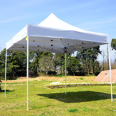 Summer Clearance 9.7x9.7ft Instant Party Wedding Tent Pop Up Canopy Foldable