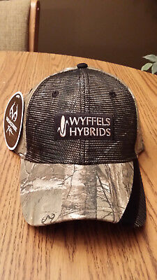 "Wyffels Hybrids Seed Corn Camo Hat ""realtree"""