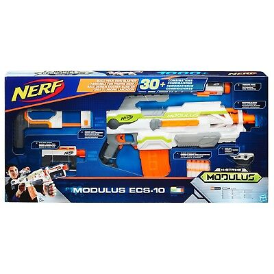 NERF N-Strike Modulus ECS-10 Blaster 10-Dart Clip NEW Great Summer Gift SET OF 2